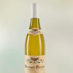 photo bouteille vin blanc en studio