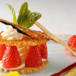 photographe culinaire pour recette dessert