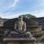 Photo archéologique Polonnaruwa Sri Lanka